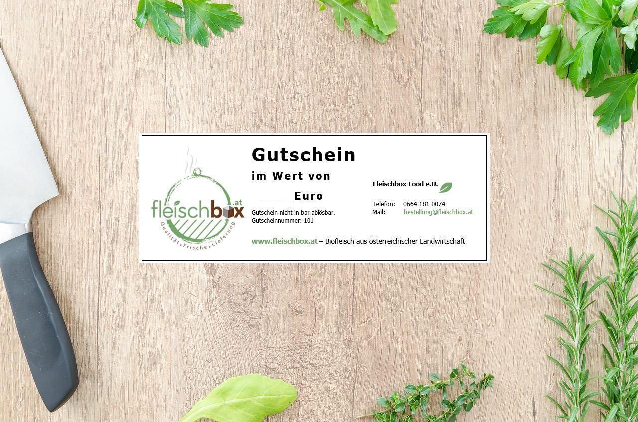 Fleischbox € 50 Gutschein