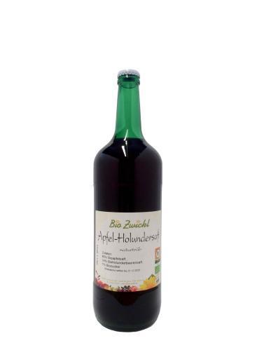 BIO Apfel-Holundersaft, 1 Liter