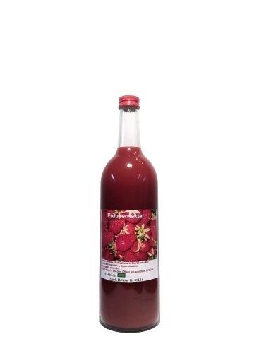 BIO Erdbeer Nektar, 0,75 Liter