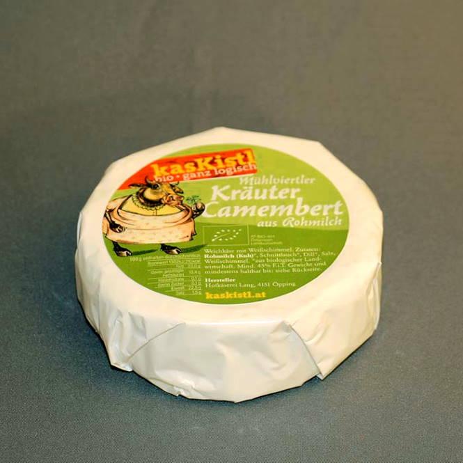 BIO Mühlviertler Camembert Kräuter - Demeter, ca. 200g