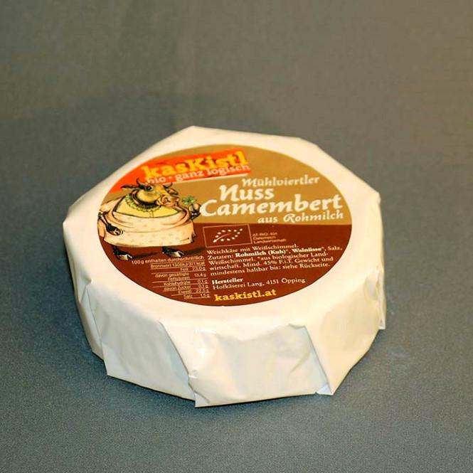 BIO Mühlviertler Camembert Nuss - Demeter, ca. 200g