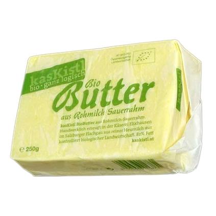 BIO kasKistl Butter aus Rohmilch, 250g