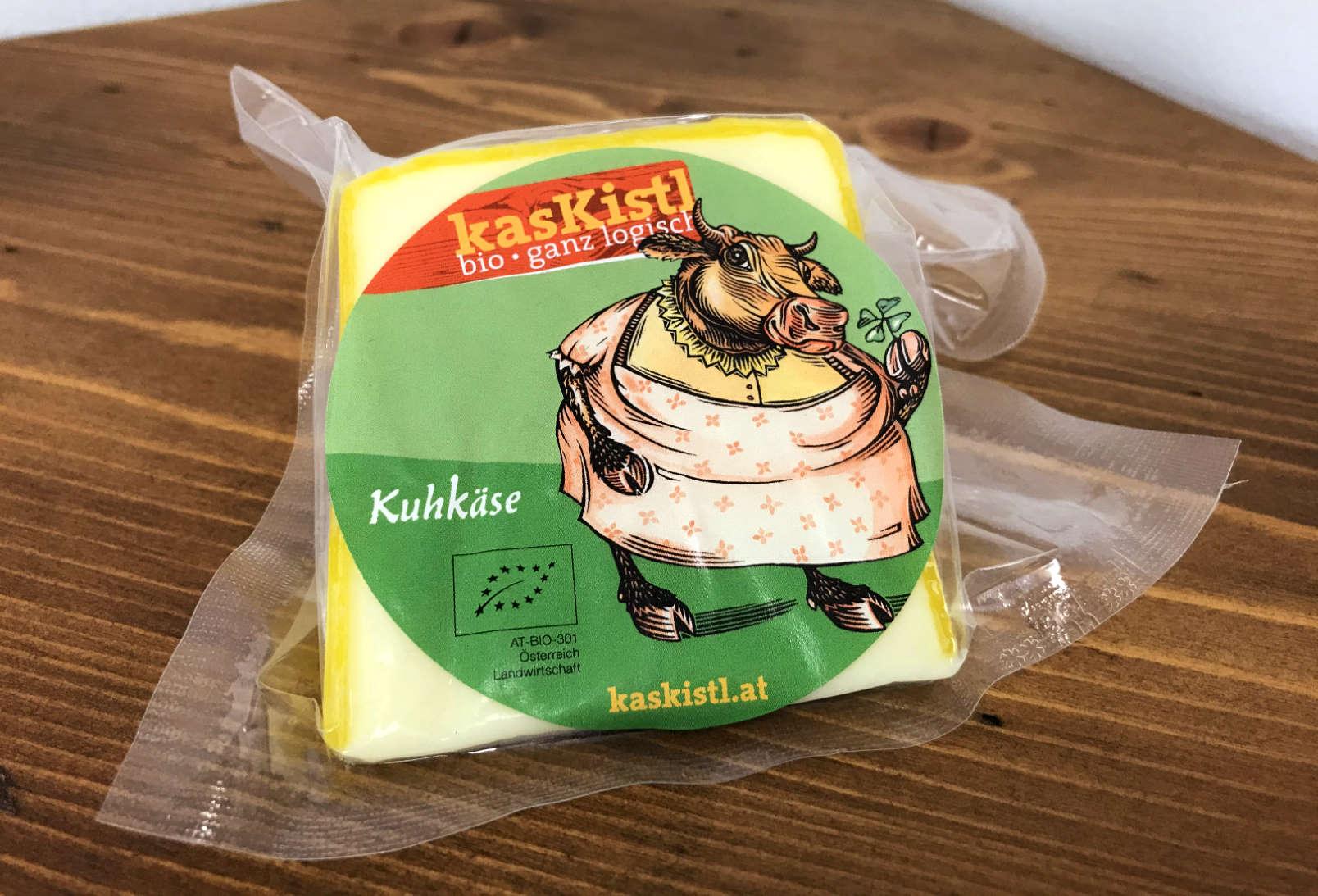 BIO kasKistl Butterkäse, ca. 150g