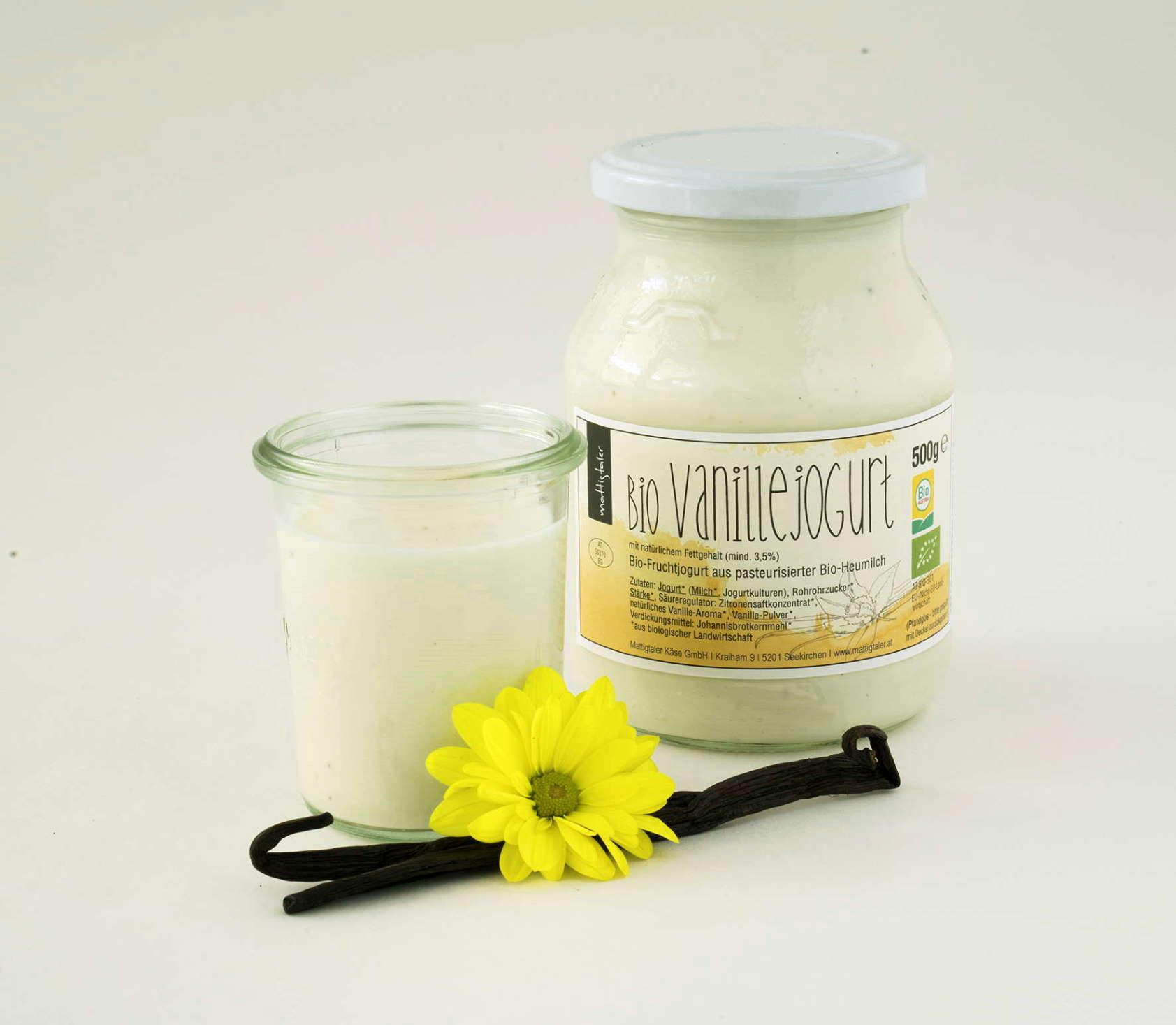 BIO Kuh-Joghurt Vanille - Mattigtaler, 500g