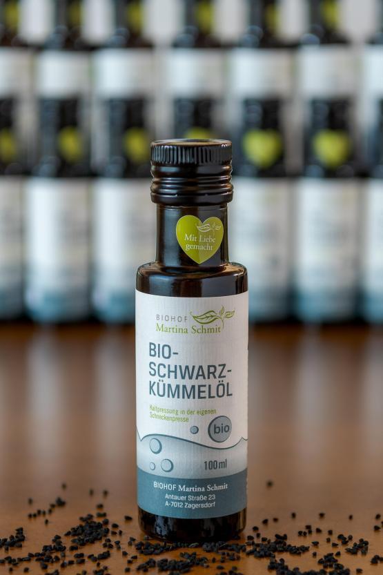 BIO Schwarzkümmelöl, 0,1 Liter