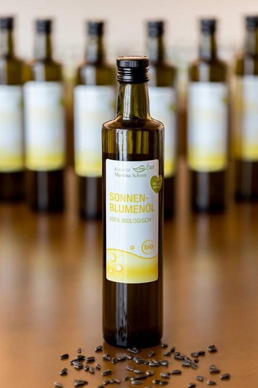 BIO Sonnenblumenöl, 0,5 Liter