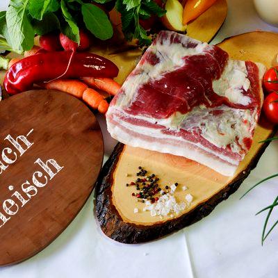 BIO Bauchfleisch vom Schwäbisch Hällischen Landschwein, ca. 1 kg
