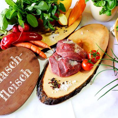 BIO Gulaschfleisch vom Schwäbisch Hällischen Landschwein, ca. 0,5 kg
