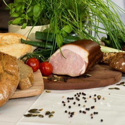 BIO Karreespeck vom Schwäbisch Hällischen Landschwein, ca. 50 dag