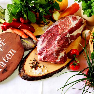 BIO Schopf vom Schwäbisch Hällischen Landschwein, ca. 1 kg