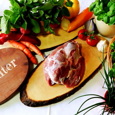 BIO Schulter vom Schwäbisch Hällischen Landschwein, ca. 1 kg