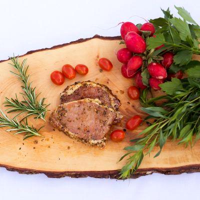 BIO Steak mariniert vom Schwäbisch Hällischen Landschwein, ca. 0,5 kg