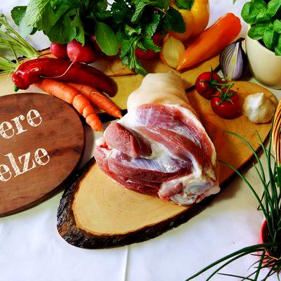 BIO Hintere Stelze vom Schwäbisch Hällischen Landschwein, ca. 1,5 kg