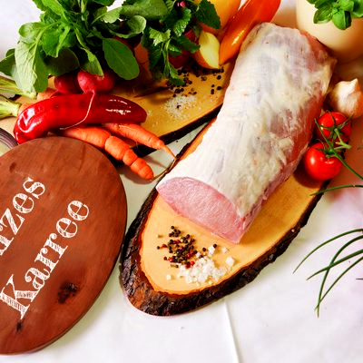 BIO Kurzes Karree vom Schwäbisch Hällischen Landschwein, ca. 1 kg