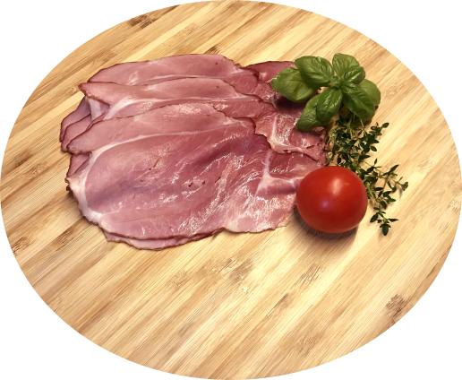 Essfertiges Geselchtes vom BIO-Schwein, ca. 20 dag