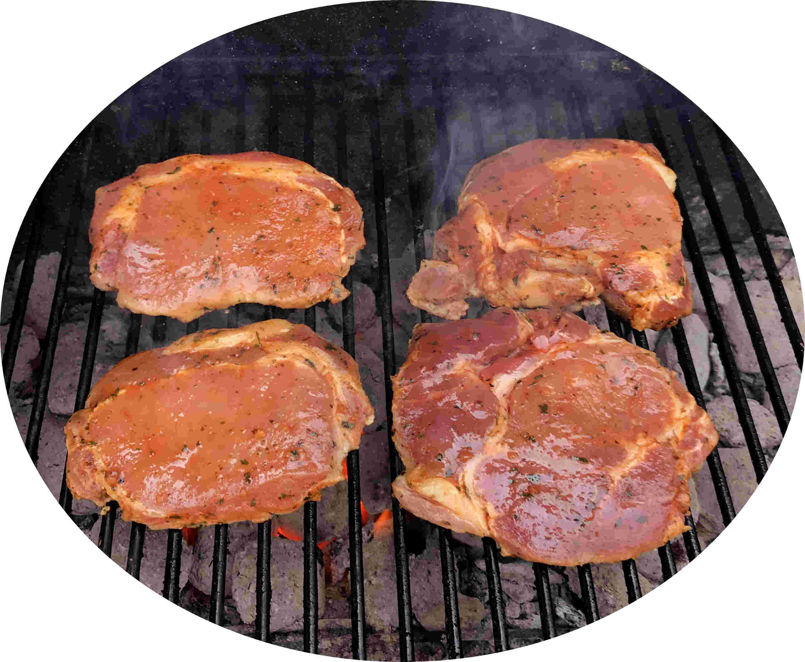 Langes Kotelett mariniert ohne Knochen vom BIO-Schwein, ca. 0,6 kg