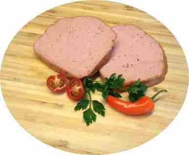 Leberkäse vom BIO-Schwein, ca. 30 dag