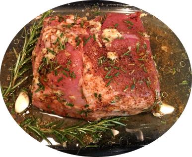 Nuss im Ganzen vom BIO-Schwein, ca. 1 kg