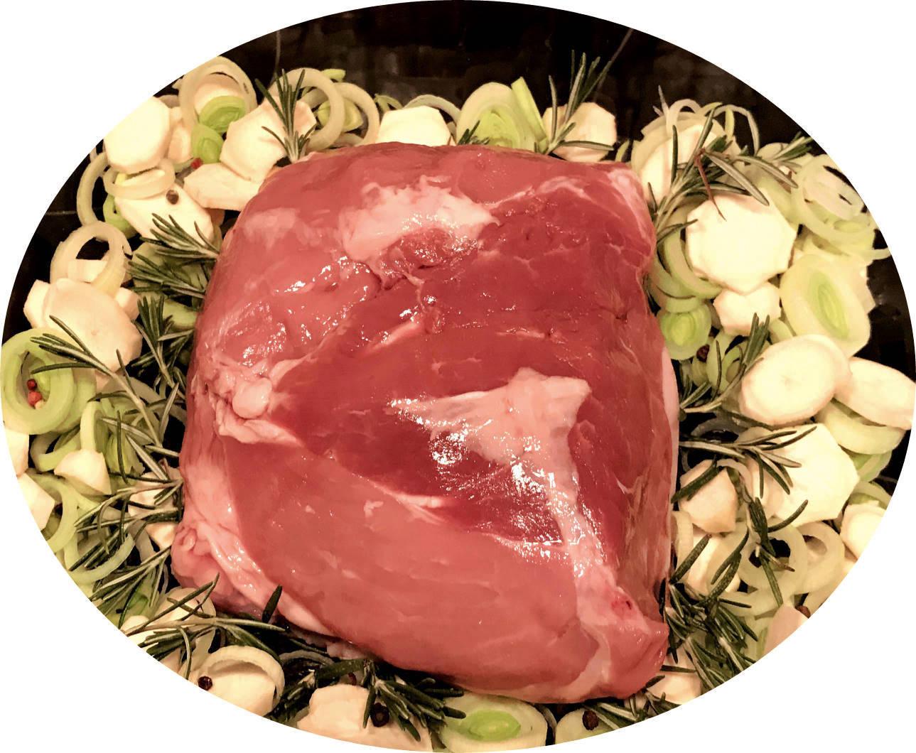 Schlussbraten vom BIO-Schwein, ca. 1 kg