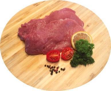 Schnitzel geschnitten vom BIO-Schwein, ca. 0,7 kg