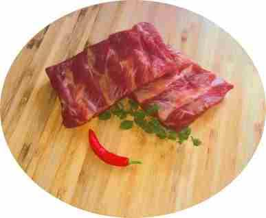 Spareribs vom BIO-Schwein, ca. 0,7 kg