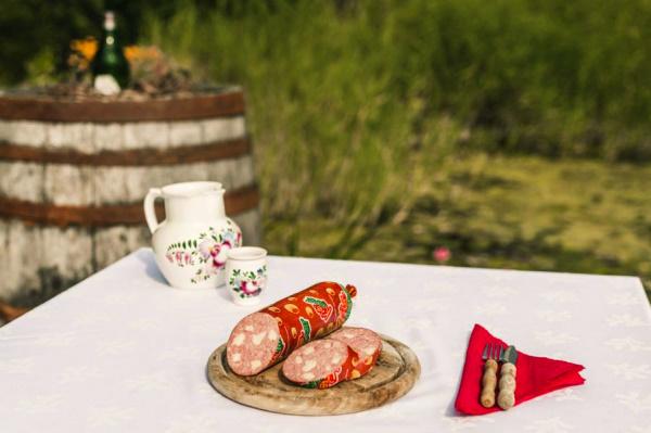 BIO Hauswurst mit Käse, ca. 20 dag